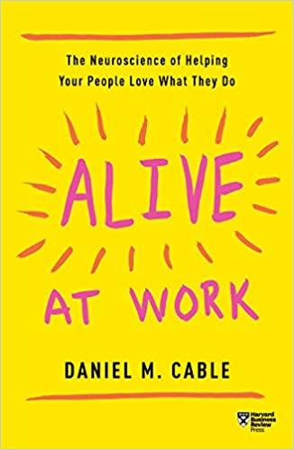come realizzarsi nel lavoro libro alive daniel cable