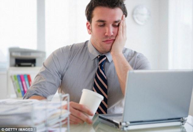 sintomi di stress da lavoro noioso